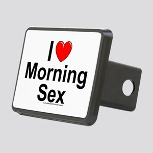 Morning Sex Rectangular Hitch Cover