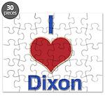 I Heart Dixon 01 Puzzle