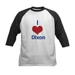 I Heart Dixon 01 Baseball Jersey