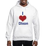 I Heart Dixon 01 Hoodie