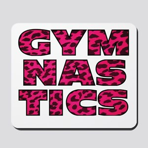 Gymnastics cheetah Mousepad