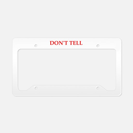 sales License Plate Holder
