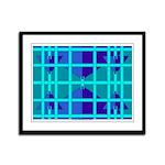 Alien Blues Framed Panel Print