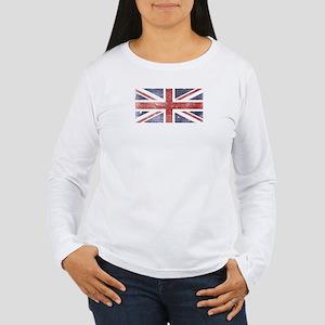 BRITISH UNION JACK (Old) Women's Long Sleeve Tee