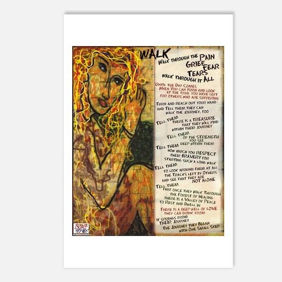 Walk Poem Postcards (Package of 8)
