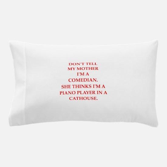 comedian Pillow Case
