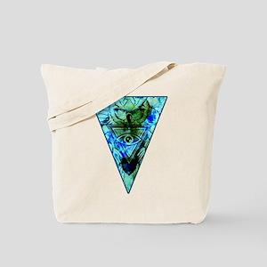 Triangle Owl Tote Bag