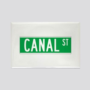 Canal St., New York - USA Rectangle Magnet