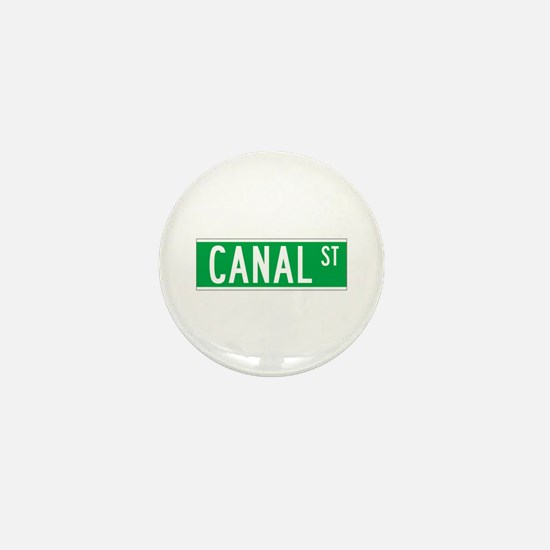 Canal St., New York - USA Mini Button