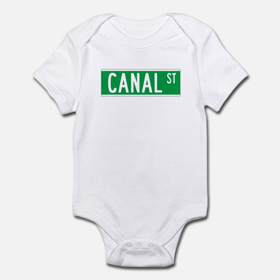 Canal St., New York - USA Infant Bodysuit