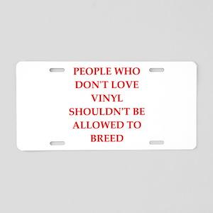 vinyl Aluminum License Plate