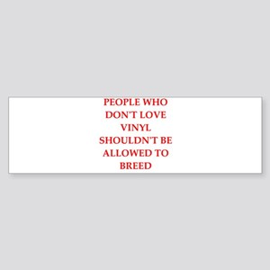 vinyl Bumper Sticker