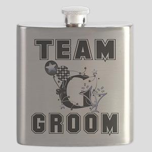 Celebrate Team Groom Flask