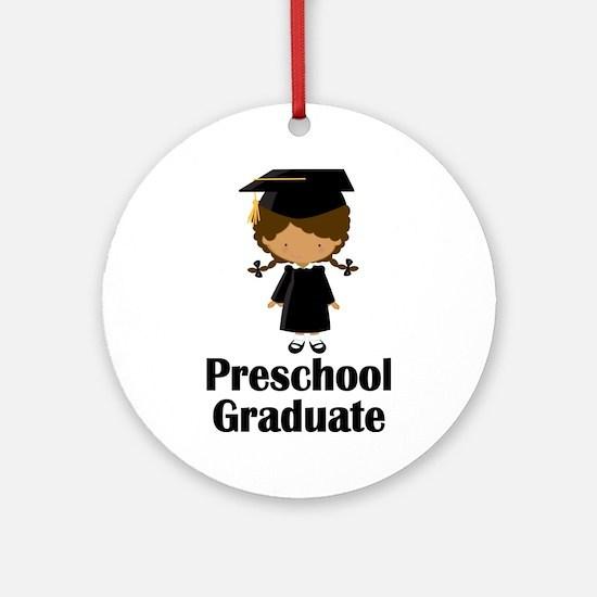 Preschool Graduate Ornament (Round)