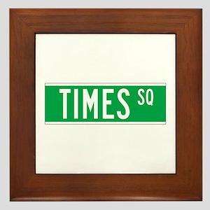 Times Sq., New York - USA Framed Tile