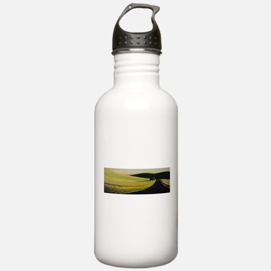 road to moscow Water Bottle