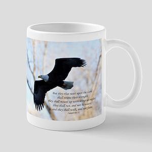 Isaiah 40:31 Eagle Soaring Mug