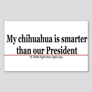 MyChihuahuaIsSmarter Sticker