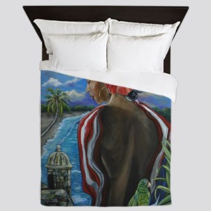 Imagines Boricuas Queen Duvet