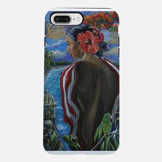 Imagines Boricuas iPhone 7 Plus Tough Case