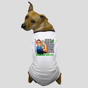 Rosie Keep Calm NH Lymphoma Dog T-Shirt