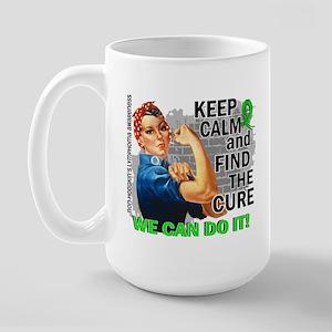 Rosie Keep Calm NH Lymphoma Large Mug