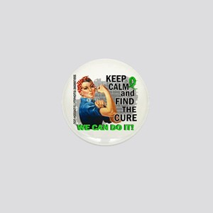 Rosie Keep Calm NH Lymphoma Mini Button