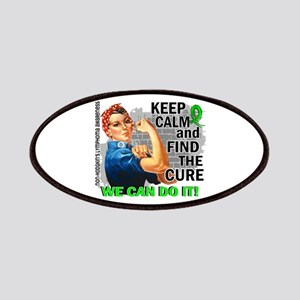 Rosie Keep Calm NH Lymphoma Patches