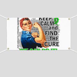 Rosie Keep Calm NH Lymphoma Banner