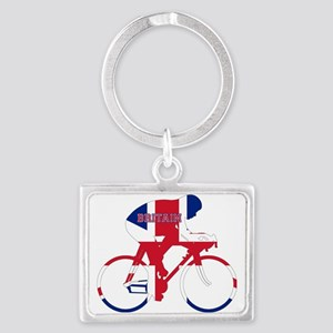 Britain Cycling Landscape Keychain
