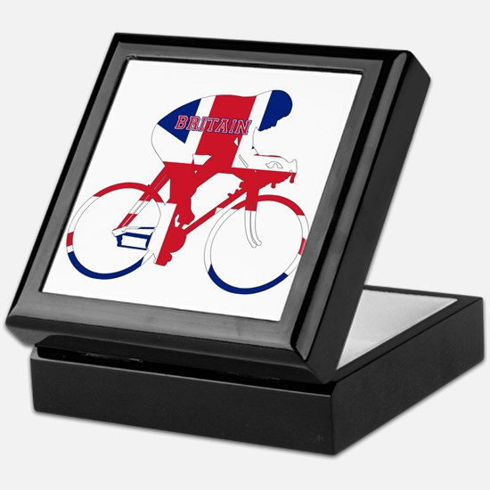 Britain Cycling Keepsake Box