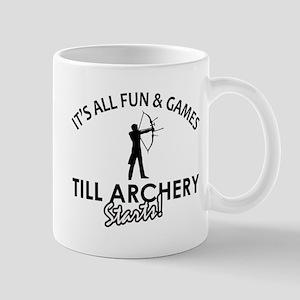 Archery enthusiast designs Mug