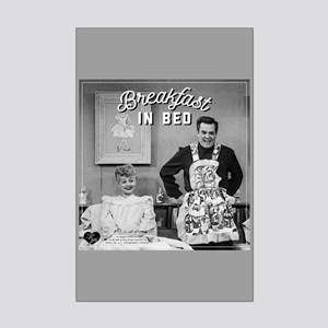 Lucy Ricky Breakfast In Bed Mini Poster Print