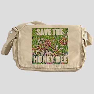 Save the honey bee Messenger Bag