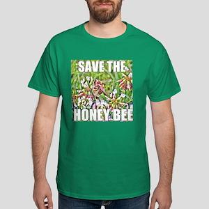Save the honey bee Dark T-Shirt