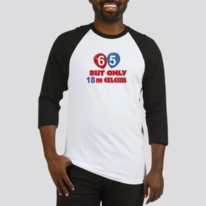 65 year old designs Baseball Jersey