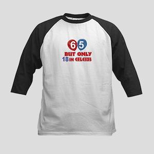 65 year old designs Kids Baseball Jersey