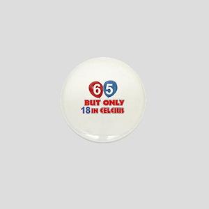 65 year old designs Mini Button