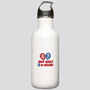 67 year old designs Stainless Water Bottle 1.0L