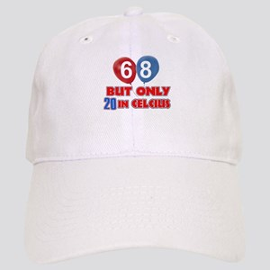 68 year old designs Cap