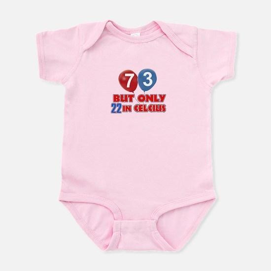 73 year old designs Infant Bodysuit