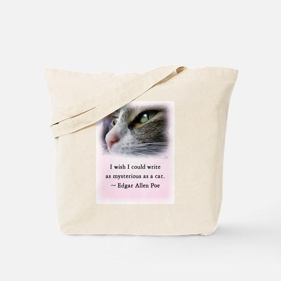 Poe's Cat Tote Bag