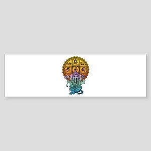 Ganesha Diamond Realm Sticker (Bumper)