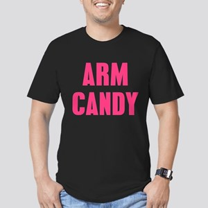 Arm Candy Men's Fitted T-Shirt (dark)