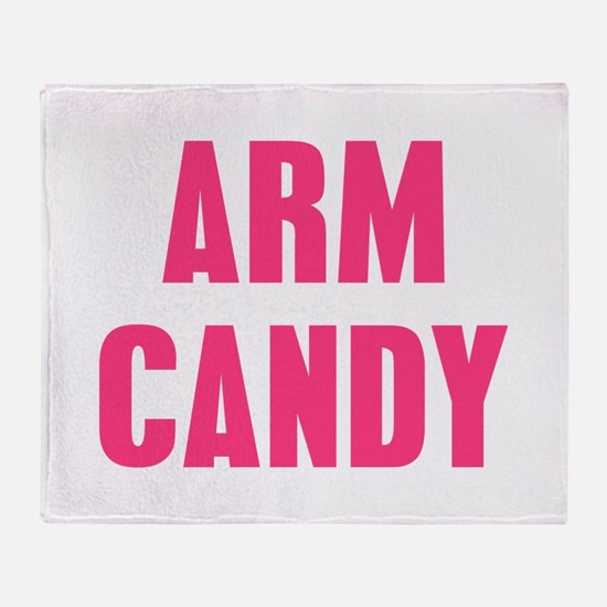 Arm Candy Throw Blanket