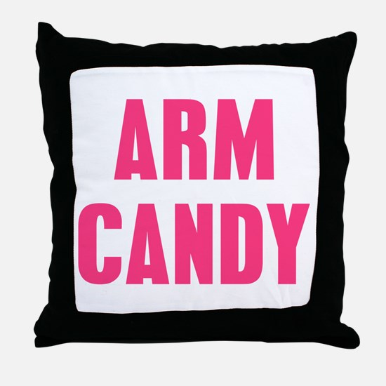 Arm Candy Throw Pillow