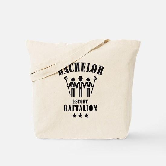 Bachelor Escort Battalion (Stag Party, Black) Tote