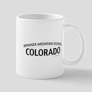 Bonanza Mountain Estates Colorado Mug