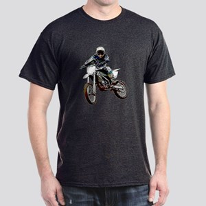 Playing in the dirt with a motorbike Dark T-Shirt
