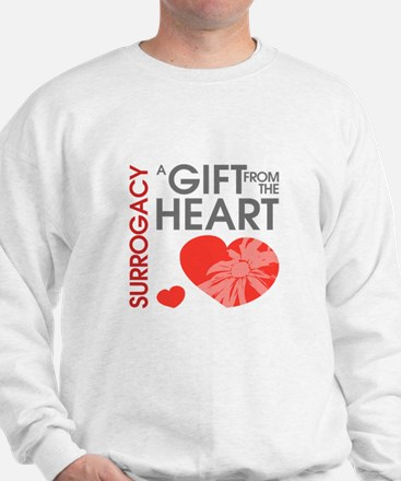 Surrogacy A Gift from the Heart Sweatshirt